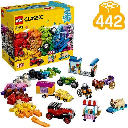Lego Classic 10715 Kockák és kerekek (új)