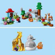 Lego 10907 Duplo - A világ állatai (új)