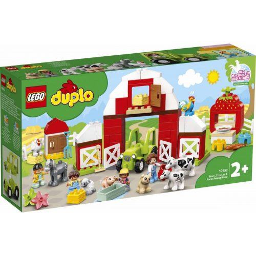 Lego 10952 Duplo - Pajta, traktor és állatgondozás a farmon (új)