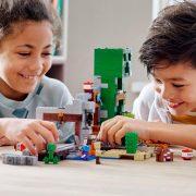 Lego Minecraft 21155 A Creeper barlang (új)