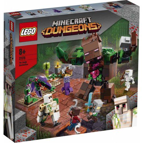 Lego Minecraft 21176 A dzsungelszörny (új)