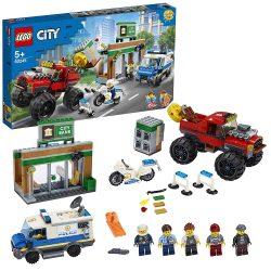 Lego 60245 City - Rendőrségi teherautós rablás (új)
