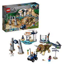 Lego 75937 Jurassic World - Triceratops tombolás (új)