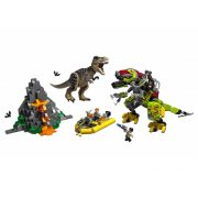 Lego 75938 Jurassic World - T-rex és Dino-Mech csatája (új)