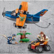 Lego Jurassic World 75942 Velociraptor: Kétfedelű repülőgépes mentőakció (új)