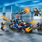 Lego 76123 Super Heroes - Amerika Kapitány Outrider támadás (új)