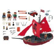 Playmobil 3900 A vörös zászlós vitorlás kalózhajó (új)