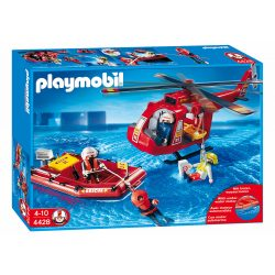 Playmobil 4428 Helikopteres vízimentők víz alatti motorral (új)