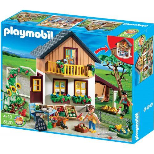 Playmobil 5120 Tanyasi ház bio árukkal és kis piaccal (új)