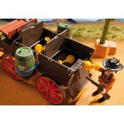 Playmobil 5248 Vadnyugati banditák ponyvás kocsival (új)