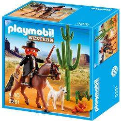 Playmobil 5251 Seriff lóháton (új)