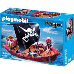 Playmobil 5298 A rettegett fekete portya vitorlás kalózhajó (új)