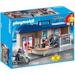 Playmobil 5299 Rendőrségi állomás (új, csomagolássérült)