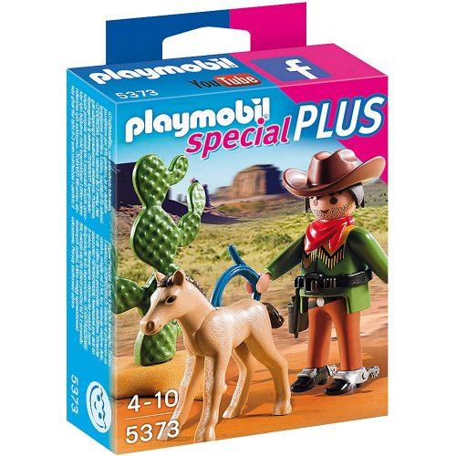 Playmobil Special Plus 5373 Cowboy csikóval (új)