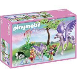 Playmobil 5478 Gyerekek pegazus családdal (új)