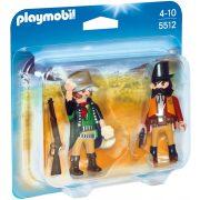 Playmobil 5512 Seriff és vadnyugati bandita (új)