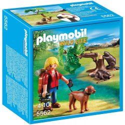 Playmobil 5562 Természettudós és a hódok (új)