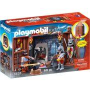 Playmobil 5637 Hordozható lovagi kovácsműhely (új)