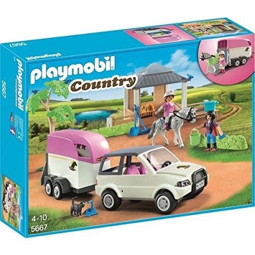 Playmobil 5667 Lószállító karámmal (új)