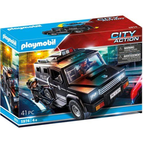 Playmobil 5974 Speciális egység terepjárója (új)