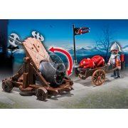 Playmobil 6038 Tűzgolyós faltörő sólyomlovagokkal (új)