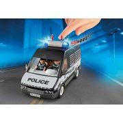 Playmobil 6043 Rendőrségi rabszállító autó fénnyel és hanggal (új)