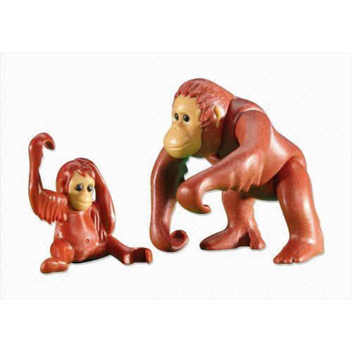 Playmobil 6200 orángután majom család (új)