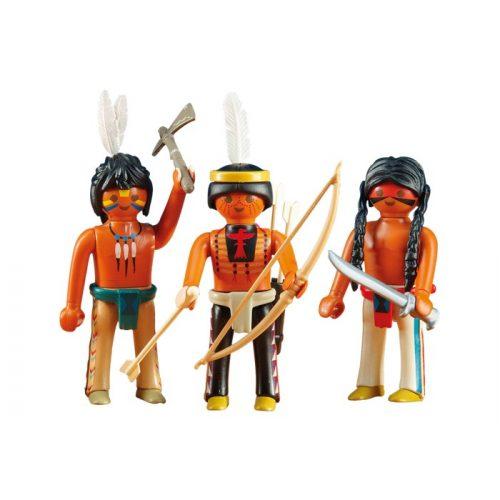 Playmobil 6272 3db-os indián csapat (új)