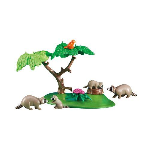 Playmobil 6317 Mosómedve család (új)
