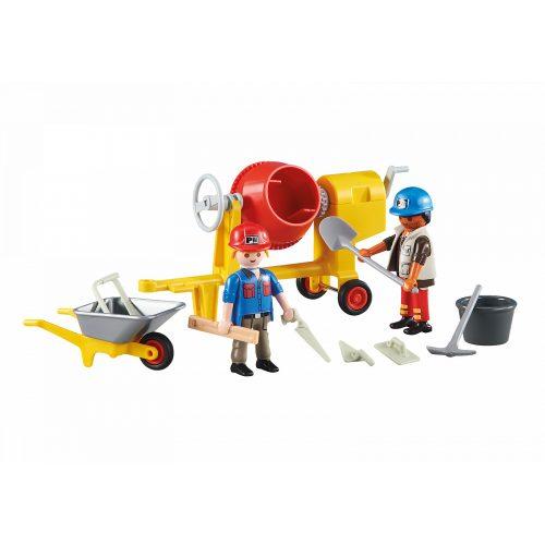 Playmobil 6339 Építőmunkások betonkeverővel (új)