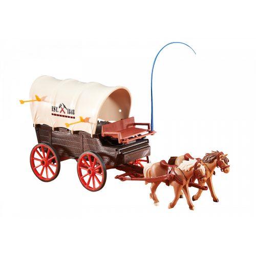 Playmobil 6426 Ponyvás lovaskocsi (új)