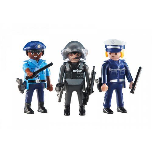 Playmobil 6501 3db-os rendőr csapat (új)