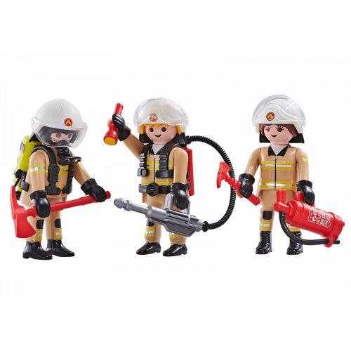 Playmobil 6584 3db-os tűzoltó csapat (új)