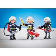 Playmobil 6586 3db-os tűzoltó csapat (új)
