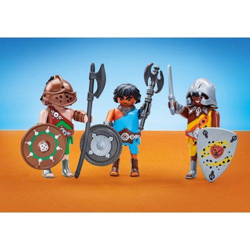 Playmobil 6590 3db-os Római gladiátor csapat (új)