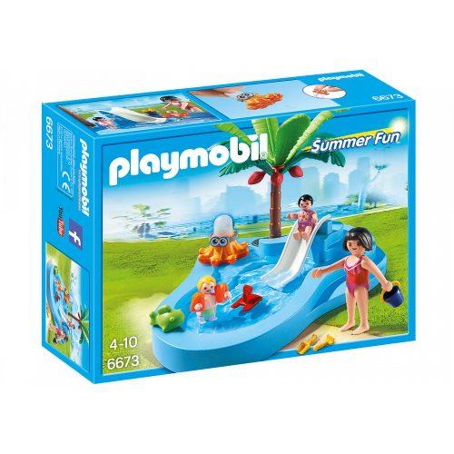 Playmobil 6673 Gyermekmedence csúszdával (új)