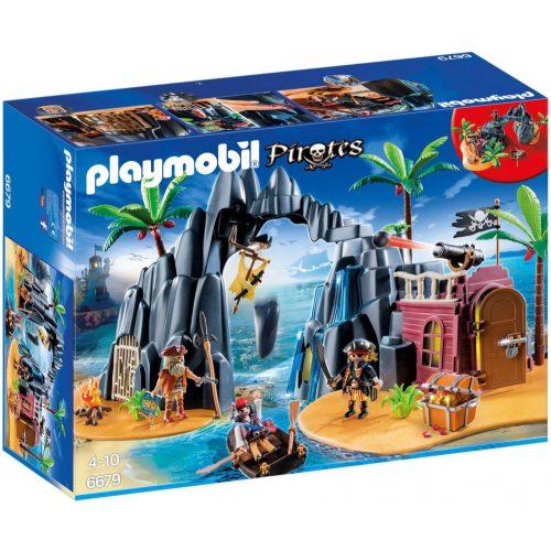 Playmobil 6679 Kalózok kincses szigete (új)