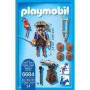 Playmobil 6684 Kalózkapitány (új)