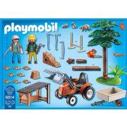 Playmobil 6814 Faszállító traktor (új)