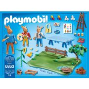 Playmobil 6863 Pamacsos Frici tojásfestő sulija (új)
