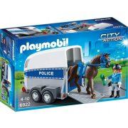 Playmobil 6922 Rendőrségi lószállító (új)