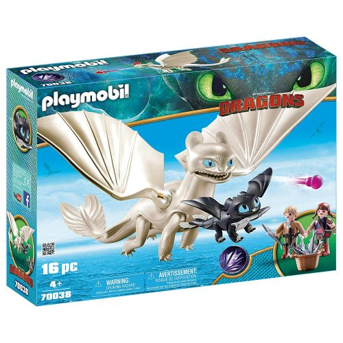 Playmobil 70038 Fényfúria babasárkánnyal és gyerekekkel (új)