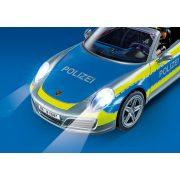 Playmobil 70067 Porsche 911 Carrera 4S rendőrautó fénnyel és hanggal (új)