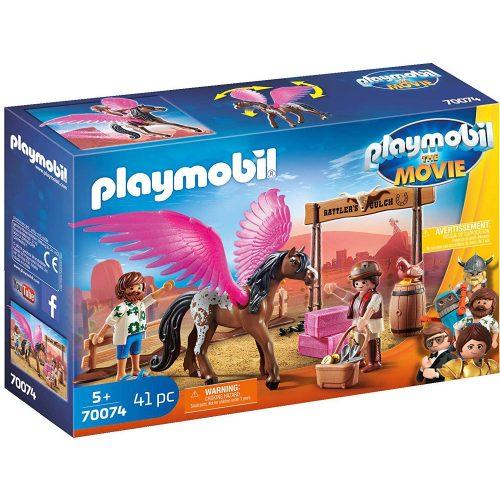 Playmobil 70074 Marla és Del pegazussal (új)