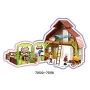 Playmobil Spirit 70118 Istálló (új)