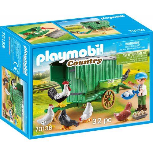 Playmobil 70138 Mobil tyúkól (új)