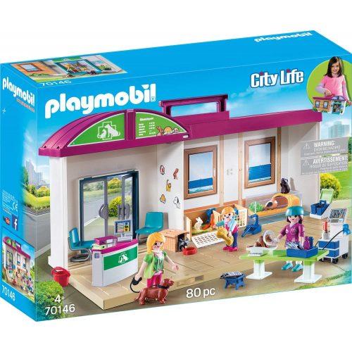 Playmobil 70146 Hordozható állatorvosi rendelő (új)