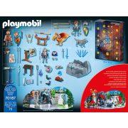 Playmobil 70187 Harc a varázslatos kőért Adventi Kalendárium (új)