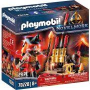 Playmobil 70228 Novelmore Burnham tűzmester tüzijátékokkal (új)