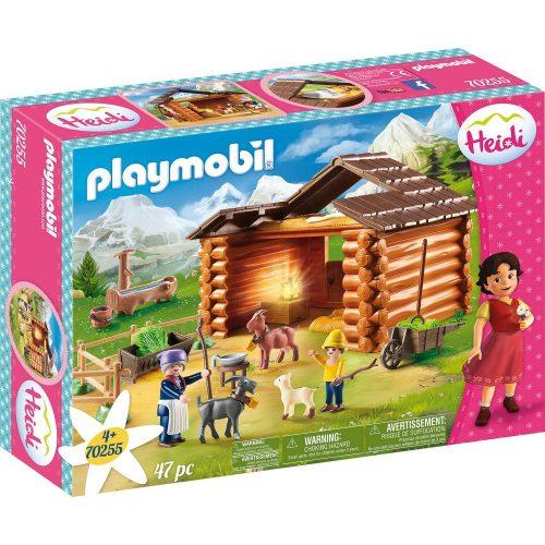 Playmobil 70255 Heidi - Peter kecskeólja (új)